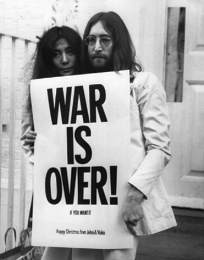 john lennon yoko ono was is over