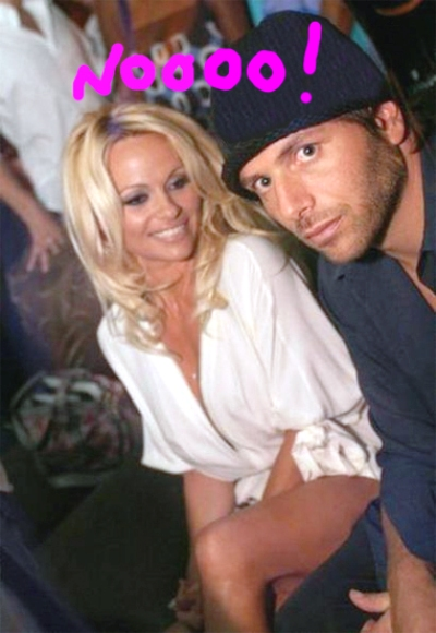pam anderson married rick salomon on a bet