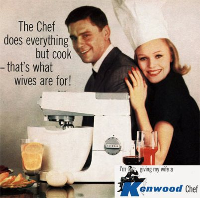 kenwood chef ad 1961