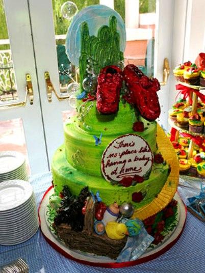 nicole richie baby shower cake
