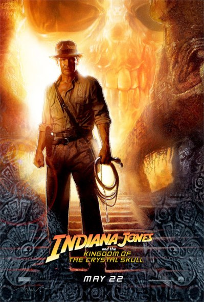 indiana jones 4 kingdom of the crystal skull movie poster