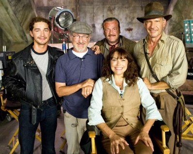 cast photo indiana jones 4 kingdom of the crystal skull