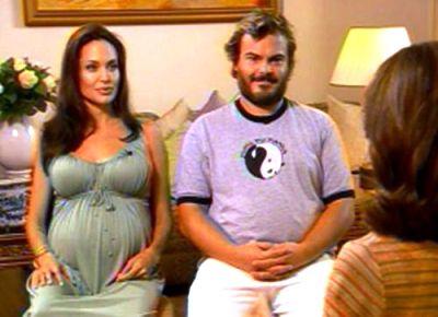 angelina jolie pregnant twins