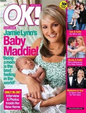 jamie lynn spears baby maddie