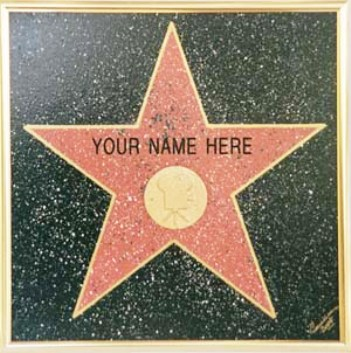 hollywood walk of fame your name here