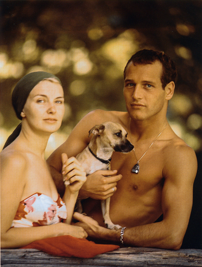 paul newman joanne woodward dog