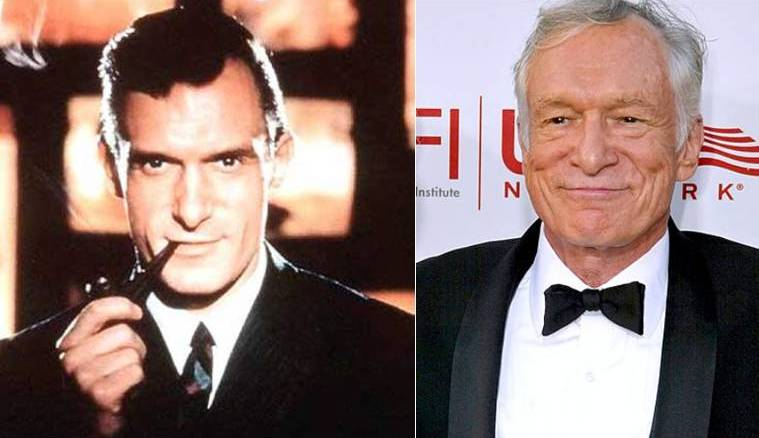 hugh hefner then and now