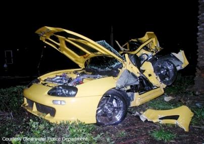 nick hogan car crash photos