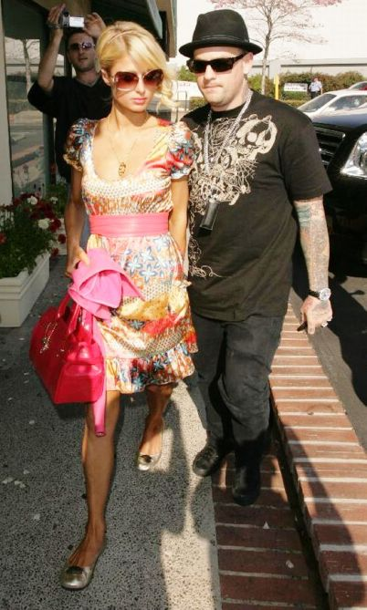 paris hilton benji madden breakup