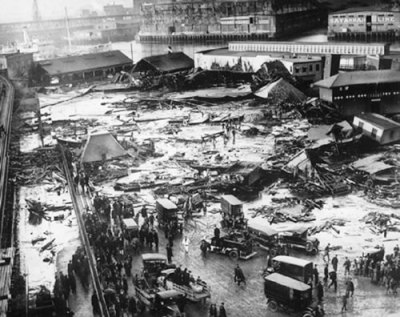boston molasses flood of 1919