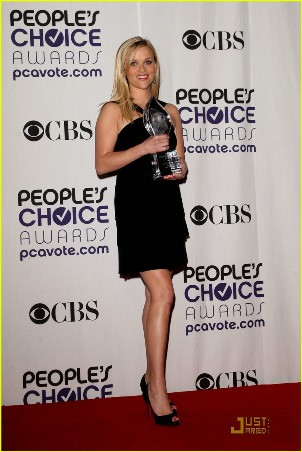 reese witherspoon 2009 people's choice awards