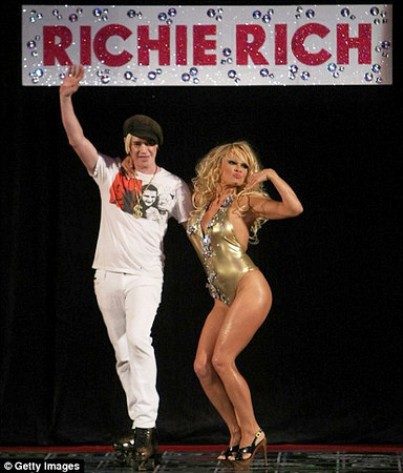 pamela anderson with richie rich