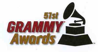 51st grammy awards logo