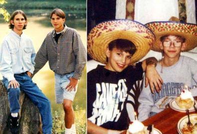 aston kutcher twin brother michael