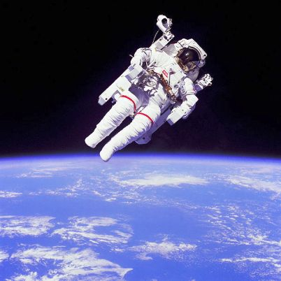 Bruce McCandless Space Free Fly