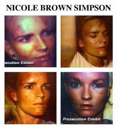 nicole brown simpson abuse pictures
