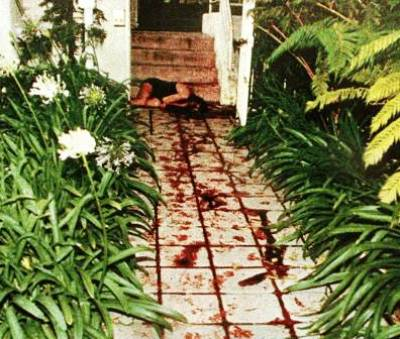 nicole brown simpson murder scene