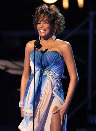 whitney houston grammys 2009