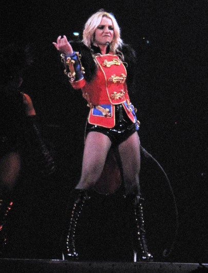britney spears circus new orleans