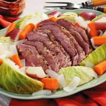 Corned Beef And Cabbage Recipe – Irish Soda Bread Recipe