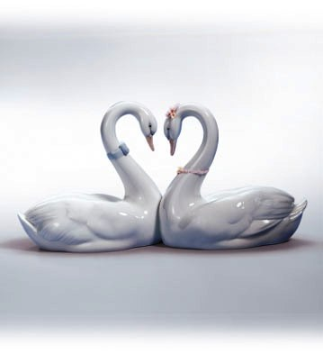 endless love swan heart