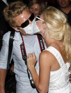spencer pratt heidi montag swine flu