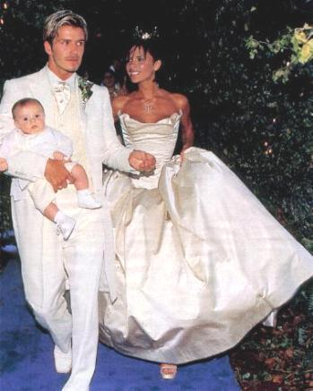 victoria david beckham wedding photo