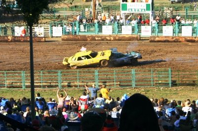 demolition derby calaveras county fair
