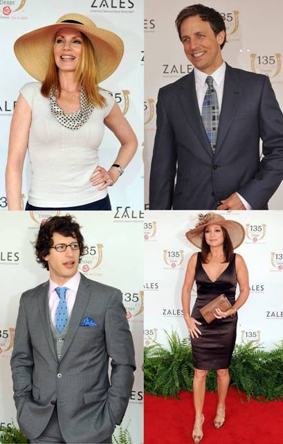 kentucky derby celebrities 2009