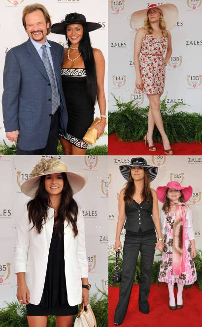 celebrities at the 2009 kentucky derby