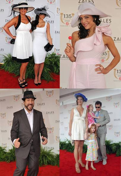 2009 kentucky derby celebrities