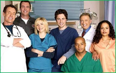 scrubs tv show cast photo