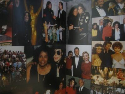 michael jackson memorial booklet pictures inside