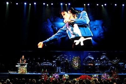 queen latifah michael jackson memorial