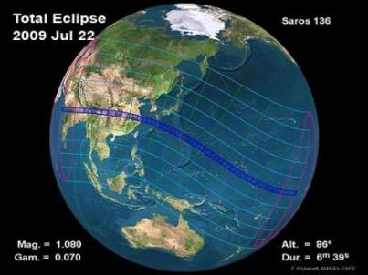 solar eclipse 2009 live webcast