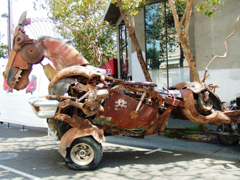 berkeley art car horse