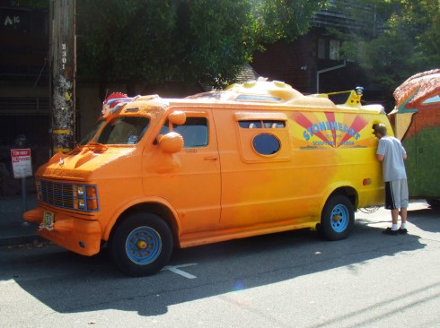 berkeley art car orange 1