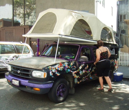 berkeley art car tent