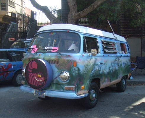 berkeley art car cheshiar cat