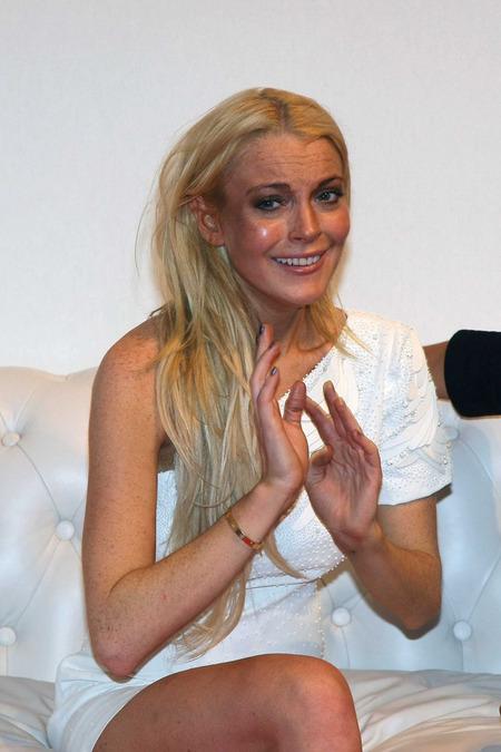 Lindsay Lohan and Ungaro