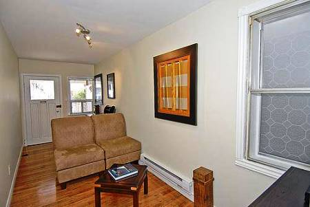 smallest house in brooklyn new york interior towards front