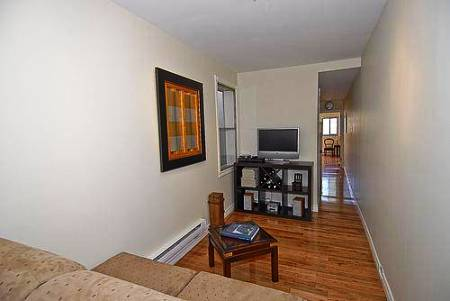smallest house in brooklyn new york interior towards back