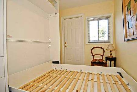 smallest house in brooklyn new york murphy bed down