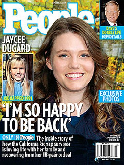 jaycee dugard photo people magazine cover