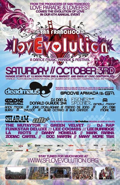 lovevolution 2009 poster