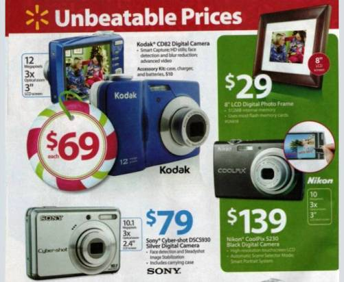 walmart black friday ad 2009