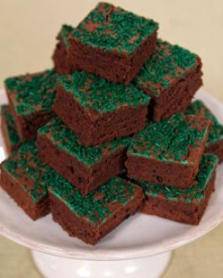 martha stewart green brownies