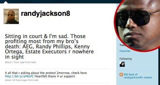 randy jackson twitter feb 8 2010