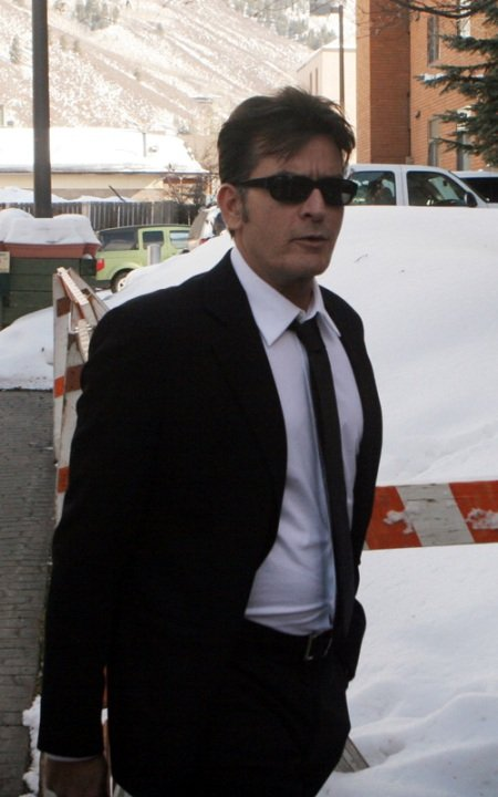 charlie sheen aspen court feb 8 2010