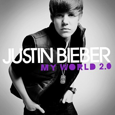 justin bieber my world 2.0 album cover